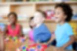 Kids enjoying learning