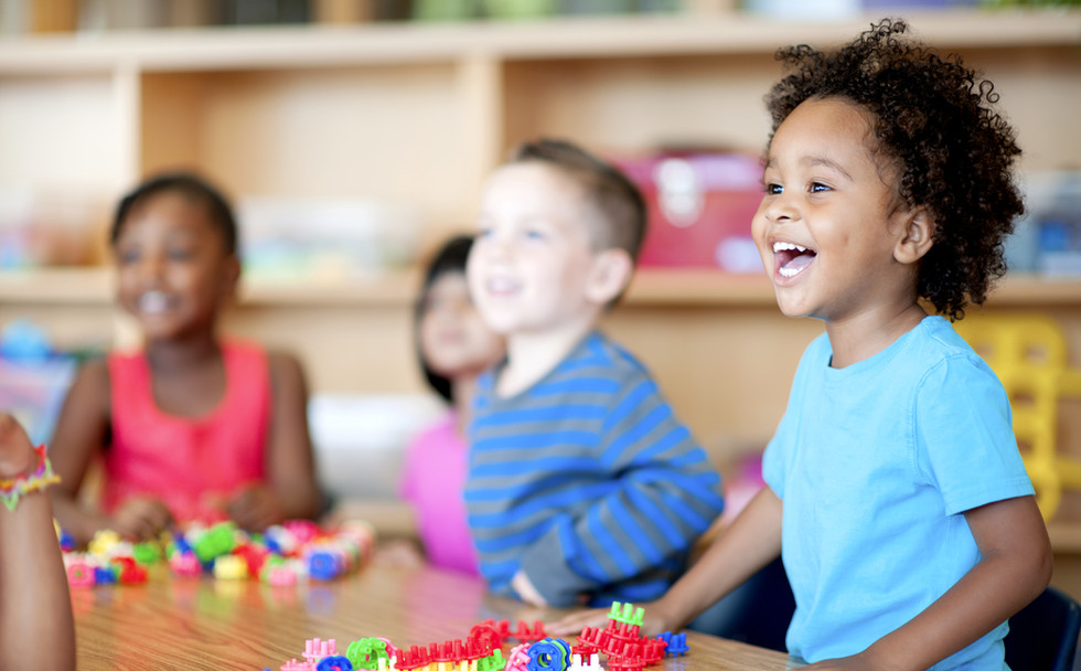 Kids in Preschool