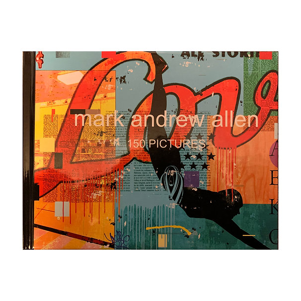 BOOK: 150 PICTURES BY MARK ANDREW ALLEN