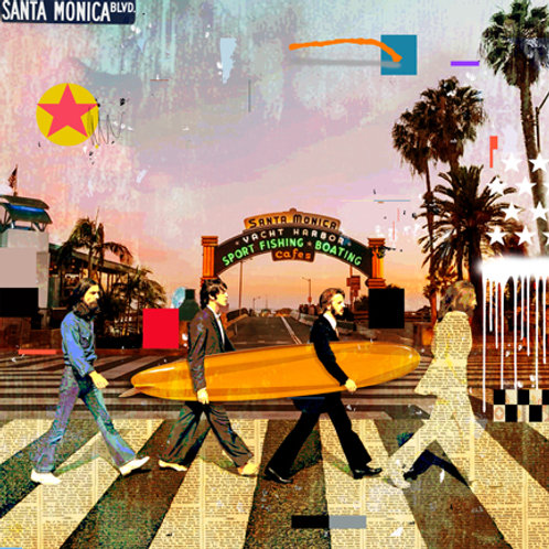 BEATLES - SANTA MONICA