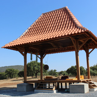 Our Indonesian temple (Gazebo)