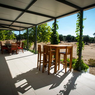 Dining area terrace Barn