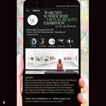 WABGNET Summer 2020 Virtual Reality Exhibition01.06.-31.08.2020