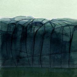 Långskär1, watercolor, 26x36, 2018