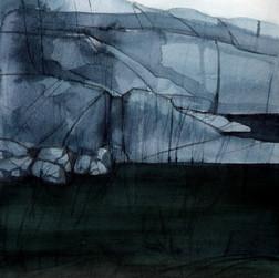 Hamnö, 26x36cm, watercolor, 2018
