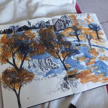 The harvest of the sketchbook