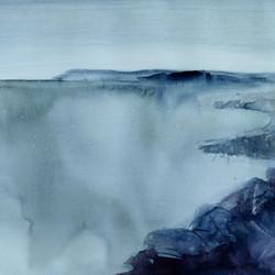 Källskär, 32x42cm, watercolor, 2020