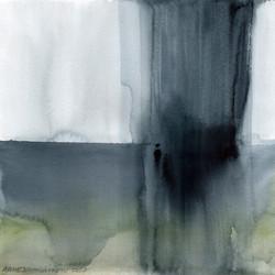 RAIN, 30x30cm, watercolor, 2020