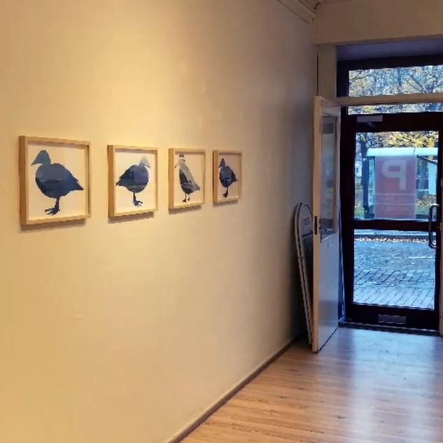 P-gallria, Ääressä yksityisnäyttelyni, 2019