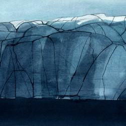 Långskär, 26x36cm, watercolor, 2018