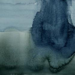 Rain, 32x42cm, watercolor, 2020
