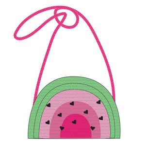 Kids Watermelon Straw Bag CAD