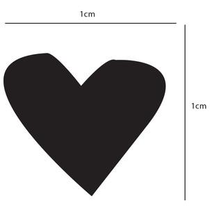 Heart Pattern Sizing