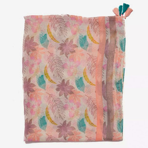 Final Product of Pastel Tropical Scarf for Dorothy Perkins