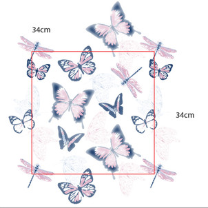 Butterfly Print Repeat Development