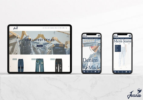 Website and App Mock Ups