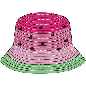 Kids Watermelon Straw Cloche CAD
