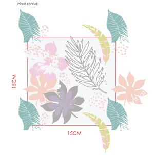 Pastel Tropical Print Repeat Development