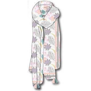CAD for Pastel Tropical Scarf