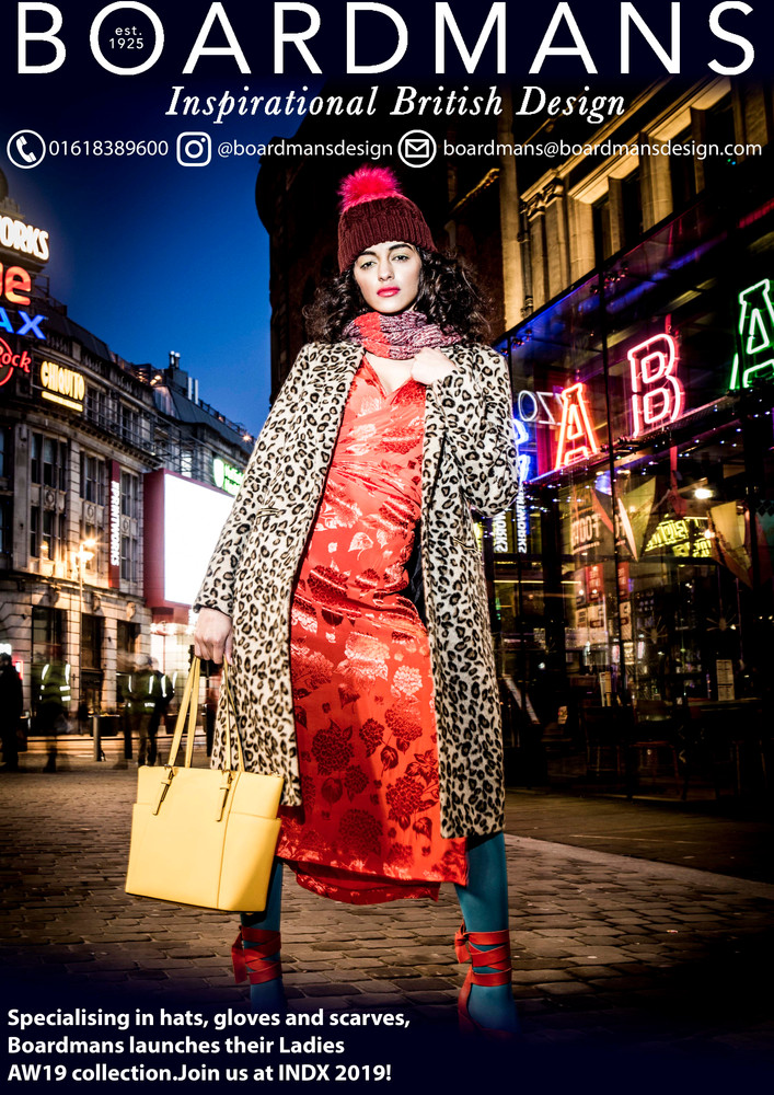 Womens AW19 Advert for INDX