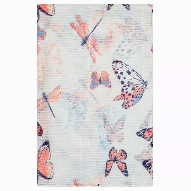 Final Product of Butterfly Scarf for Dorothy Perkins