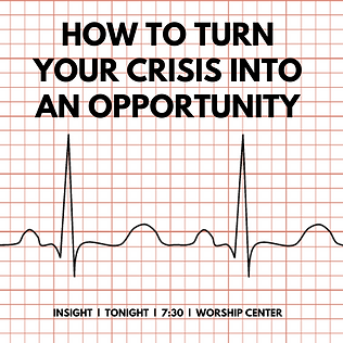 How to turn your crisis into an opportun