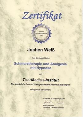 Zertifikat Hypnosetherapie bei Angst und Phobien