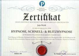 Hypnose, Schnell und Blitzhypnose