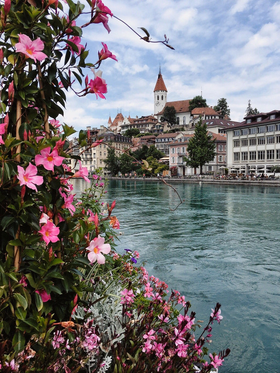 Thun viewed from across the river