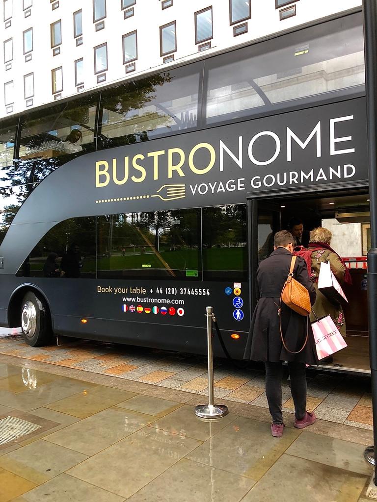 Bustronome London bus