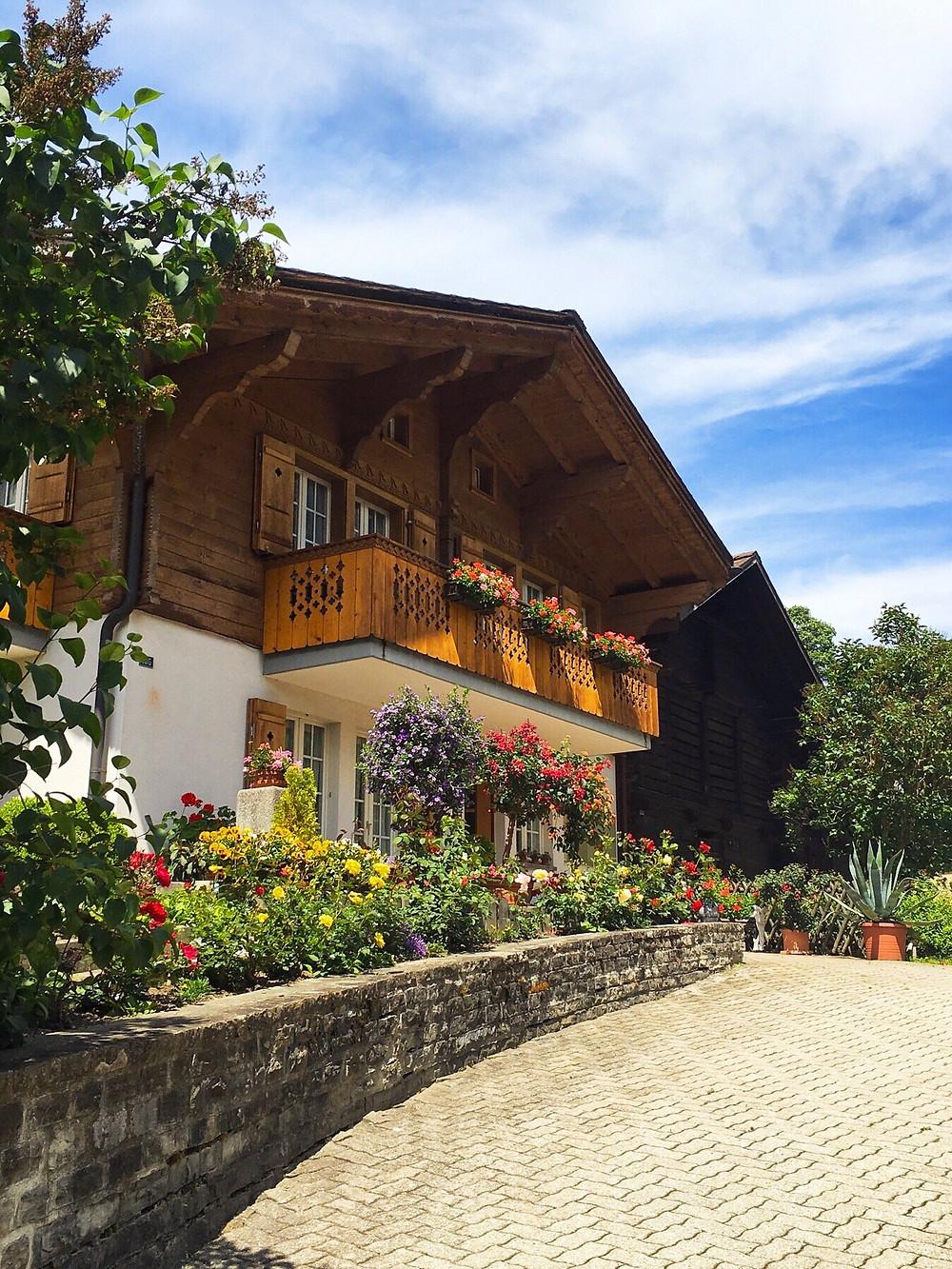Swiss chalet in Grindelwald