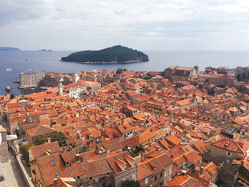Dubrovnik and the island of Lokrum