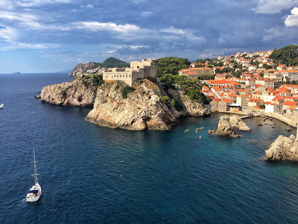 Dubrovnik from Sveti Petar