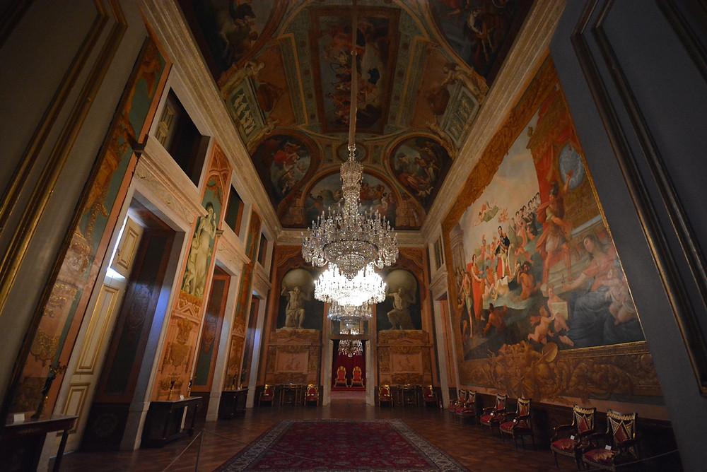 Inside the Palácio da Ajuda - by Alejandro on Flickr