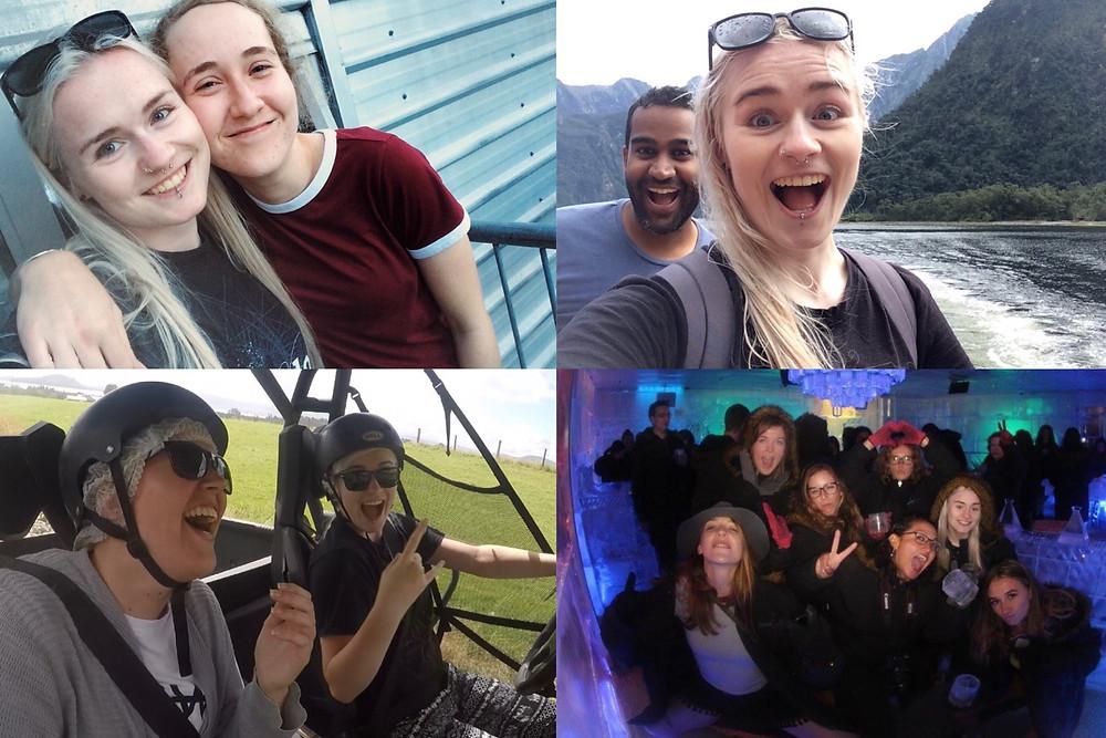 Photos from a New Zealand Topdeck tour