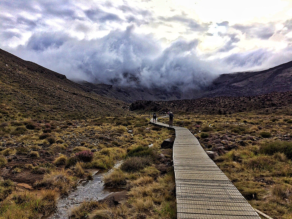 The Tongariro Alpine Crossing