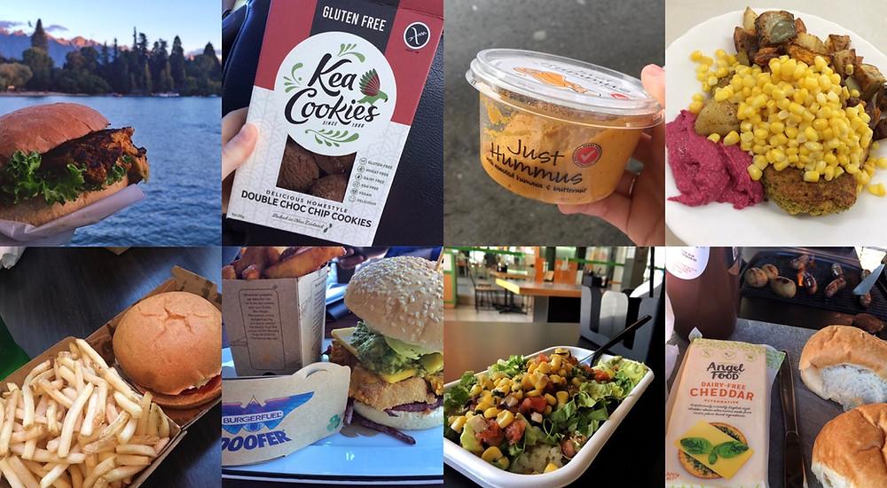 Vegan food in New Zealand