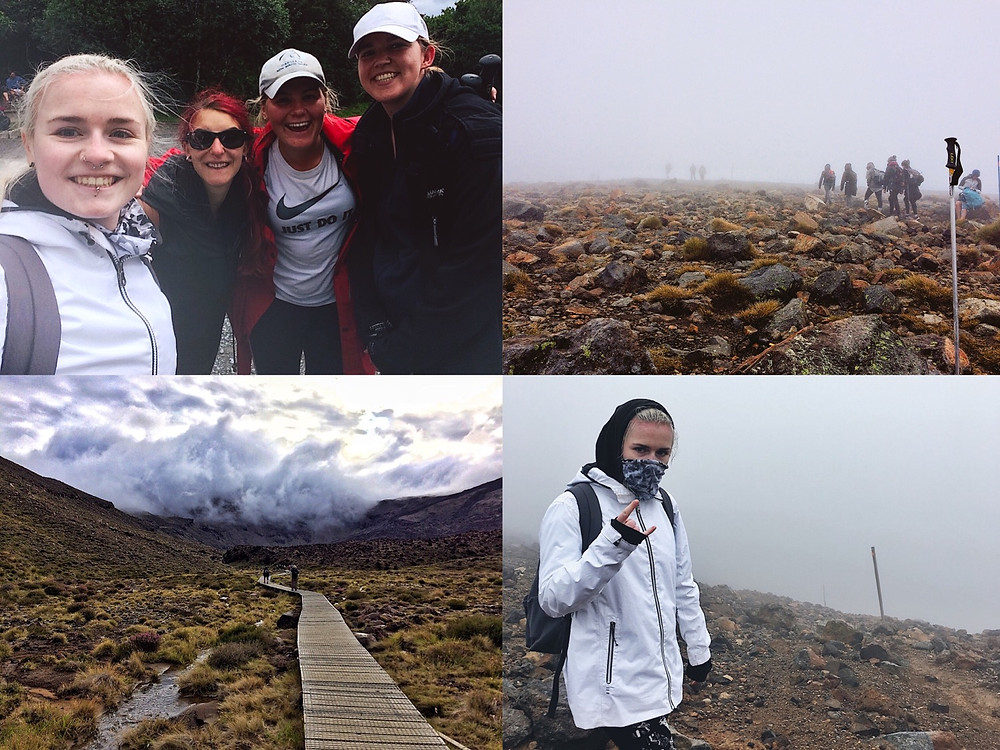 Photos from the Tongariro Alpine Crossing in New Zealand