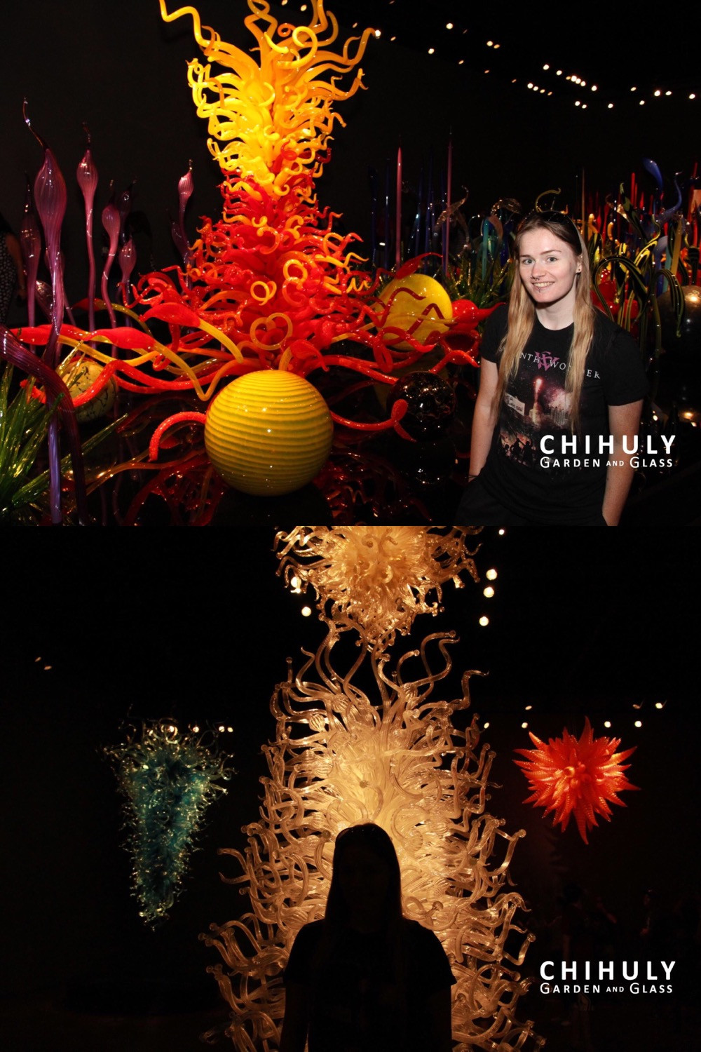 Visiting the Chihuly Garden and Glass museum in Seattle