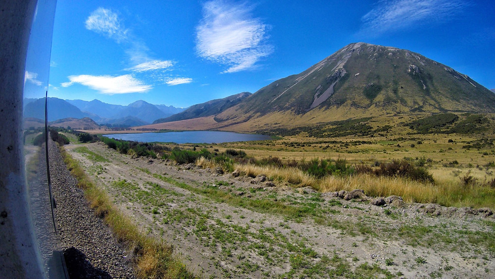 Views from TranzAlpine Railway