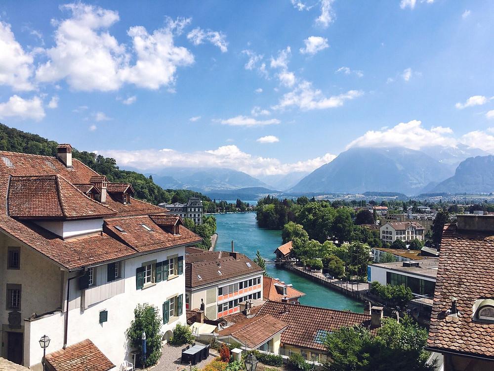 Views across Thun