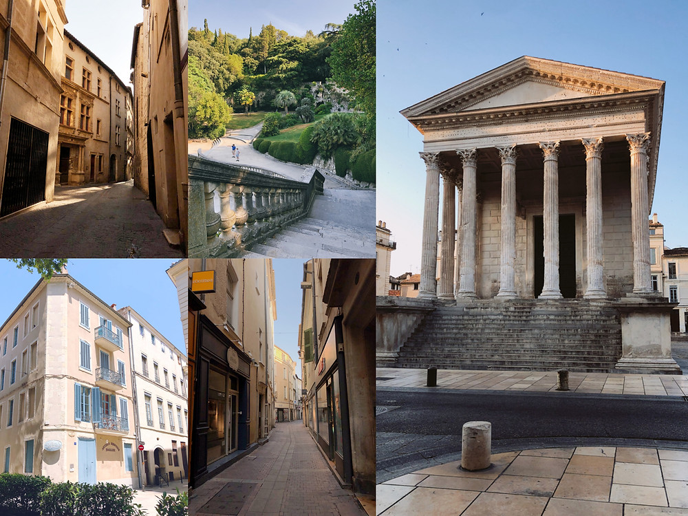 Photos from around the French city of Nimes