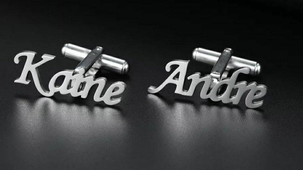 Custom Name Cufflinks
