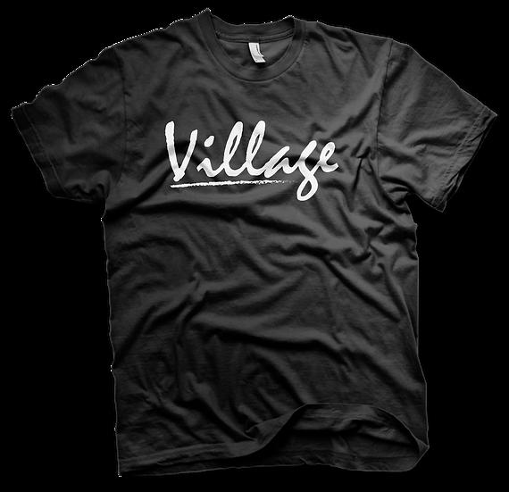 Village Classic Tee - Black