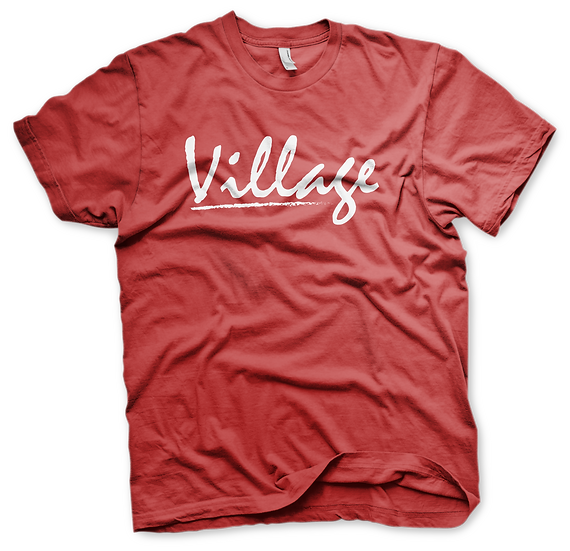 Village Classic Tee - Red