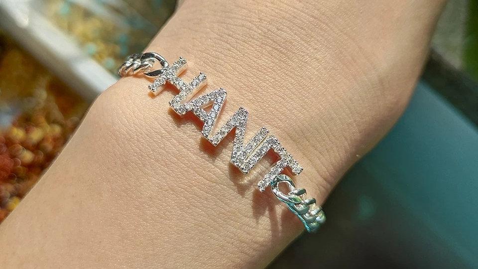 Custom Bling Bracelet