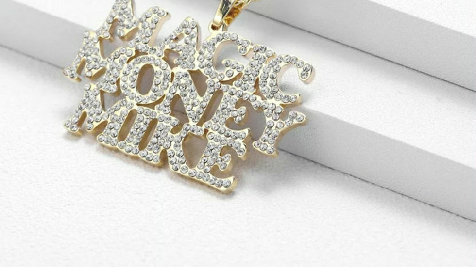3 Names Bling Necklace