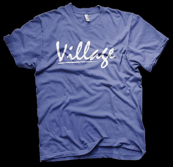 Village Classic Tee - Blue