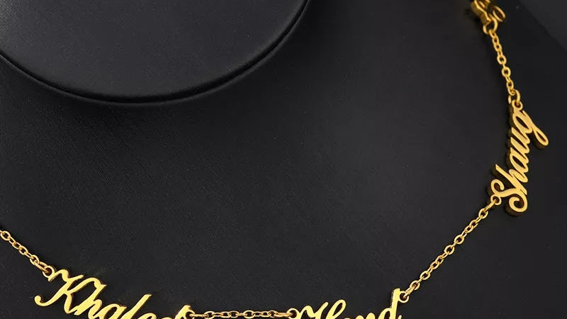 5 Name Necklace