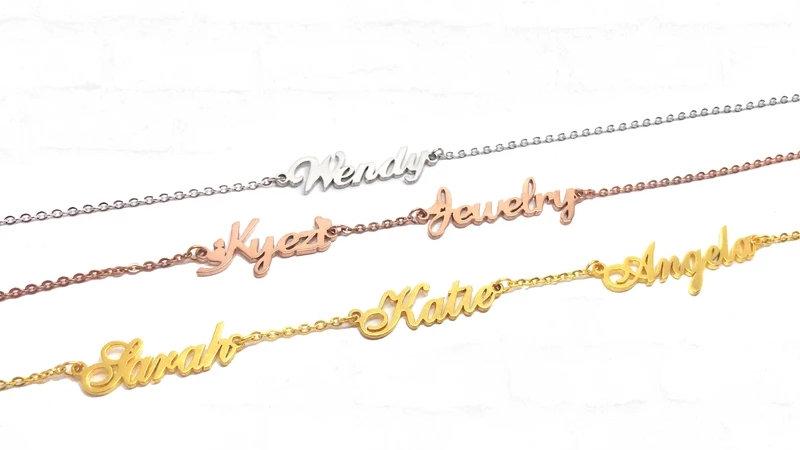 3 Name Custom Bracelet
